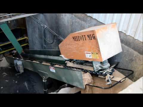 MELLOTT - Bark/Chip Conveyor and Troughing Idler Conveyor