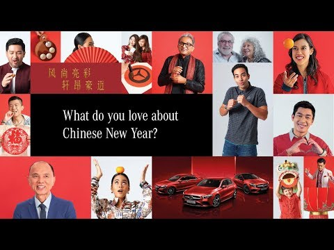 #MYMercedesCNY Million things to love about CNY - Malaysians reveal