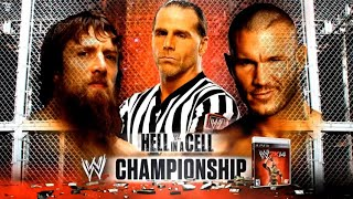 WWE Hell In A Cell 2013 Official And Full Match Card (Old Section)