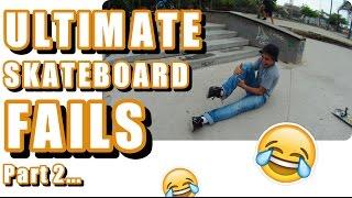 Ultimate Skateboard Fails Part 2 | April 25th 2017 ||UrDailyGiggle||