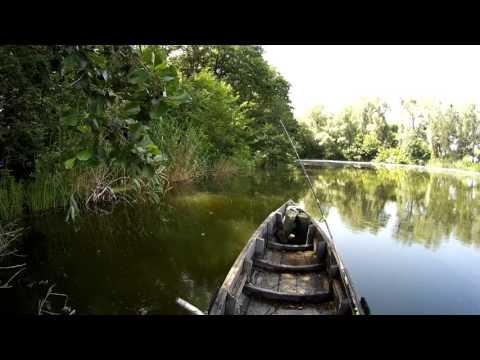 ловля неводом на озере видео