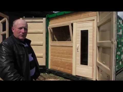 Строительство: Мобильная баня в контейнере под ключ - заказать!