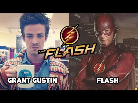 The Flash in real life  The Flash Then And Now