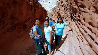 Family Friendly Slot Canyon Hike, Utah