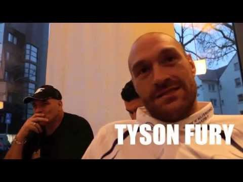 TYSON FURY *UNCUT IN DUSSELDORF* -ON KLITSCHKO, MAIL ARTICLE, HAYE, HENNESSY, ROUSEY & PPV FIGHTERS.
