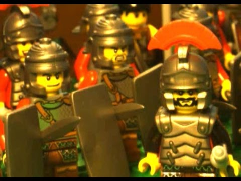 280 B.C. Lego Battle of Heraclea.  Pyrrhus of Epirus vs. Rome