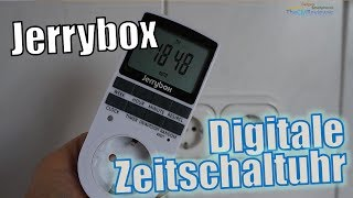 Jerrybox Digitale Zeitschaltuhr | Test Review - Hands-on (Deutsch)