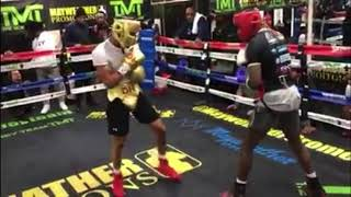 Devin Haney Sparring Kevin Johnson With Commentary