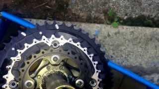 Shimano Deore FC-M610 10sp Crankset Chainset