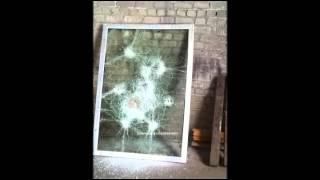Триплекс стекло в окнах