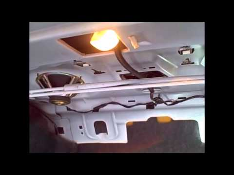 2001 chevy lumina replacing 3rd window brake light youtube. Black Bedroom Furniture Sets. Home Design Ideas