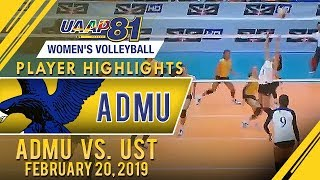 UAAP 81 WV: Kat Tolentino, Maddie Madayag team up for Ateneo's first win | February 20, 2018