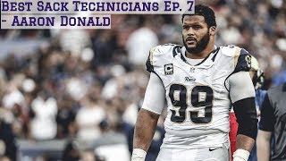 Gambar cover Best Sack Technicians Episode 7 || Aaron Donald Film Session || Los Angeles Rams
