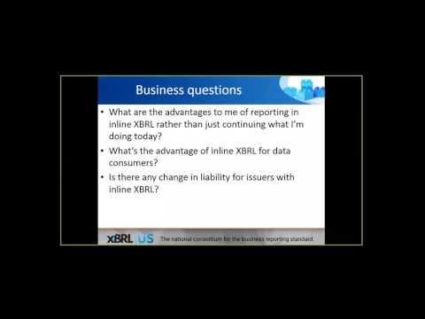 SEC Inline XBRL for Public Companies