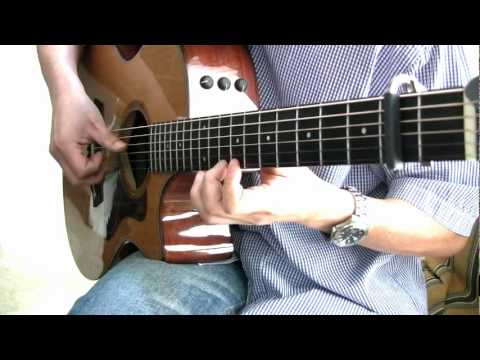 River Flows in You (Yiruma) - Fingerstyle Guitar Tab - YouTube