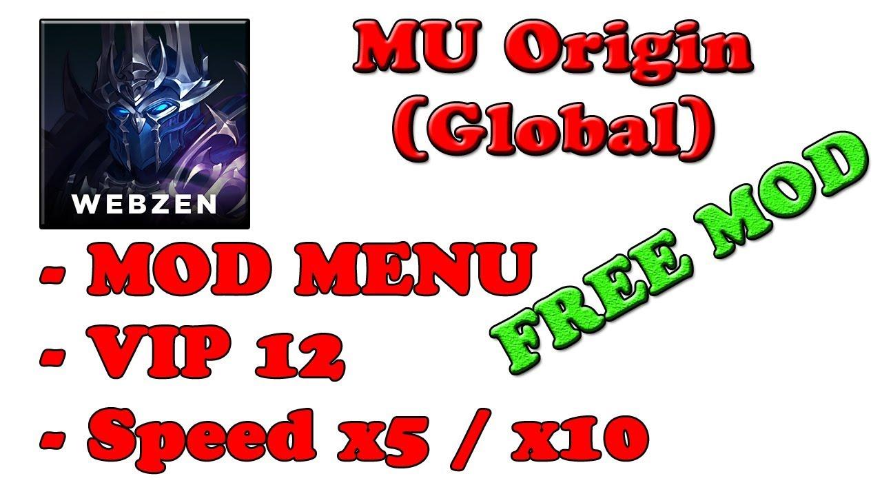 FREE! MU Origin (Global) Ver  9 0 1 MOD MENU APK   High Movespeed   VIP 12  