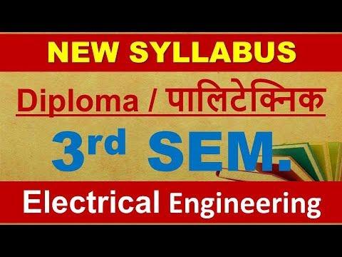 Electrical Engineering 3rd semester II Syllabus II Diploma II