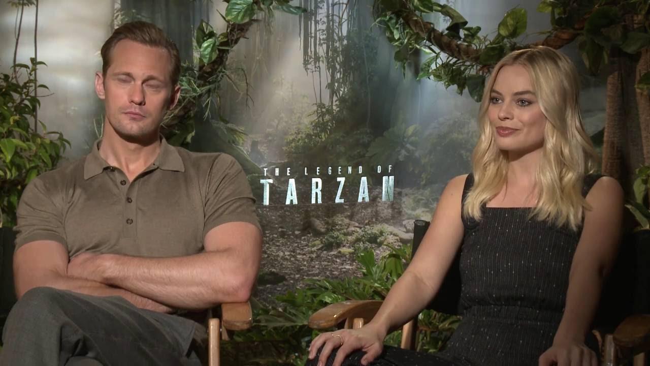 Tarzan Alexander Skarsgard Workout