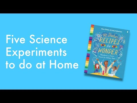 5 Science Experiments To Do At Home