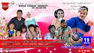 Gambar cover LIVE  STREAMING SANDIWARA LINGGA BUANAKarang Sinom, Kamis 19 Maret 2020  PENTAS MALAM