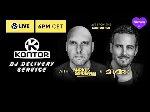 DJ Delivery Service // SUNSET CHILL W/ Markus Gardeweg & Tom Shark // Kontor Live