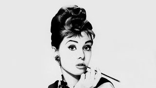 Drawing Audrey Hepburn - Florensi Q.