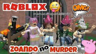 FUNNIEST MOMENTS DE ZOANDO NO MURDER MISTERY 2 (1 AO 5) ROBLOX-TRY NOT TO LAUGH!!!