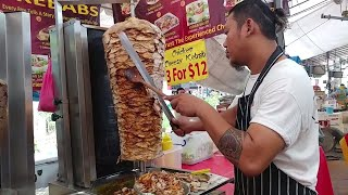Piping Hot Chunky Chicken Kebab Doner | Cheesy Chicken Kebab Wrap | King of Kebabs