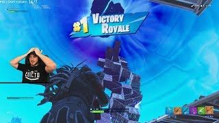 INTENSE BUILD BATTLE TO MAX HEIGHT - HIGH KILL SOLO GAME - Fortnite BR Gameplay