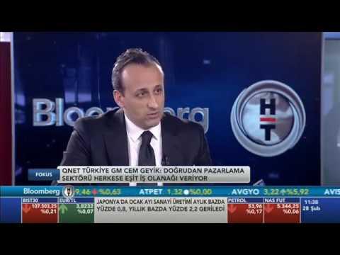 QNET Türkiye Genel Müdürü Cem Geyik Bloomberg HT'de Fokus Programı Konuğu