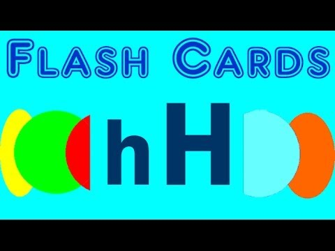 Flash Cards - english words starting with the letter h