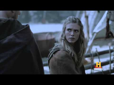 Vikings exclusive Ep. 206 video: Bjorn, Porunn