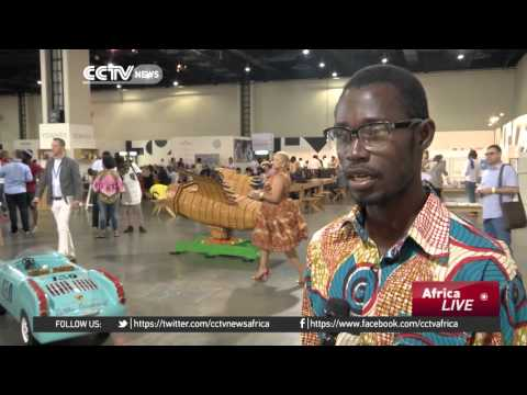 African artists showcase their work in the continents biggest art fair