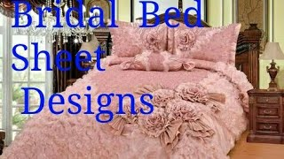 Very Expensive  Bridal  Bed Sheets Unique  Designs