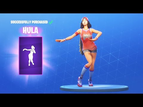 *NEW* HULA DANCE EMOTE (Fortnite Item Shop July 15)