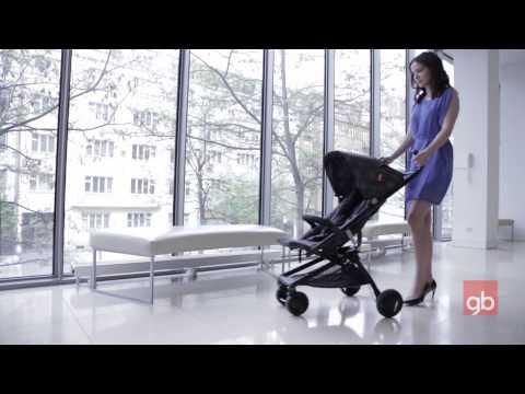 Прогулочная коляска для детей с рождения GB Q*FOLD B008