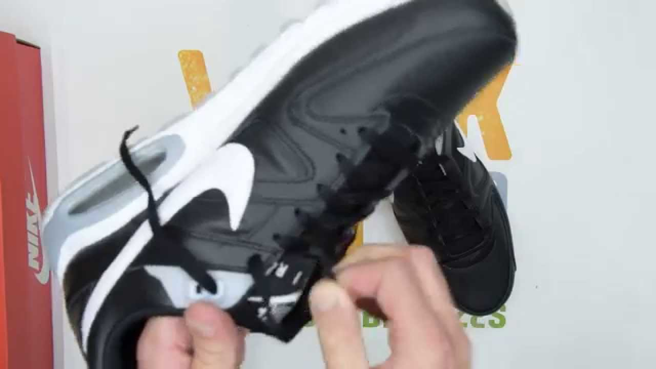 Nike Air Max Command Leather Black White Walktall | Unboxing | Hands on
