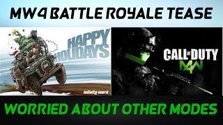 MW4 Battle Royale Teased By Infinity Ward? My Only Concern (Modern Warfare Remastered)