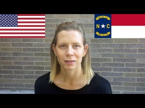American English: Example of a Southern Accent (Mary from North Carolina)