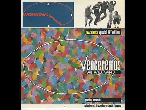 "Working Week featuring Robert Wyatt/Tracey Thorn/Claudia Figueroa ""Venceremos (We Will Win)""  12"""