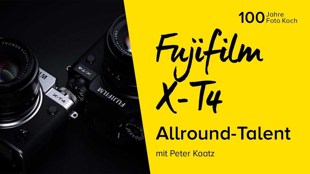 Das Allround-Talent - Fujifilm X-T4 | Online Fototage Foto Koch