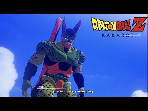Goku Vs Cell Boss Fight Dragon Ball Z Kakarot