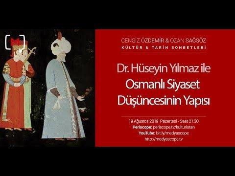 Kültür Ve Tarih Sohbetleri: Osmanlı Siyaset Düşüncesinin Yapısı Konuk: Dr. Hüseyin Yılmaz
