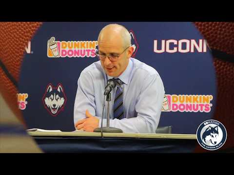 UConn's Dan Hurley Takes a Charge From His Own Player