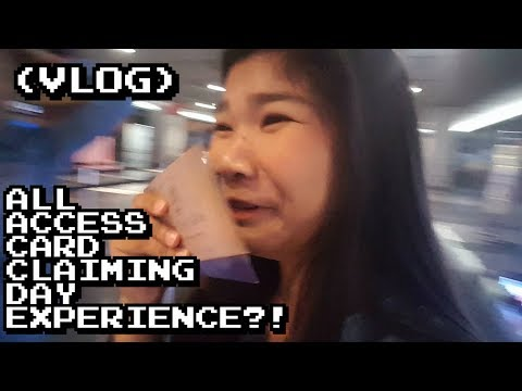 [VLOG] ALL ACCESS CARD CLAIMING DAY EXPERIENCE (ElyxionInManila)