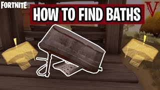 Flip Over Bathtubs Set SEE-Bot Traps | Eye Candy | Canny Valley 2 Fortnite Save the World | TeamVASH