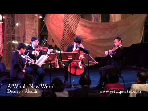 A Whole New World (Singapore String Quartet) - Flipside 2012 at Esplanade Concourse