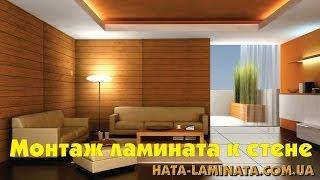 Ламинат EGGER - монтаж ламината на стену с замковой системой Just clic(Модный тренд - отделка стен ламинатом. Как это сделать дома, не вызывая при этом специалистов? С ламинатом..., 2014-06-26T14:35:13.000Z)