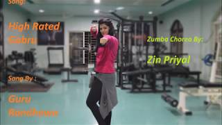 High Rated Gabru by Guru Randhawa | Zumba Routine | Zumba FlexPress with Priyal | Priyal