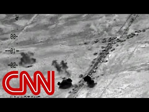 Airstrikes hit huge ISIS convoy in Falluja thumbnail